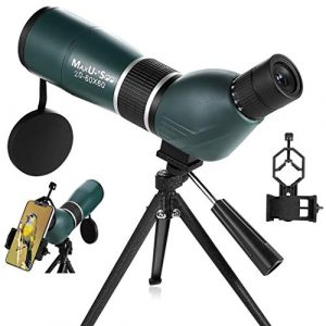 MaxUSee HD Spotting Scope with Tripod-Phone Adapter