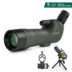 Amcrest Spotting Scope with Carrying Case-Tripod-Smartphone Adapter