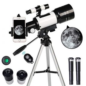 ToyerBee Refractor Telescope With Tripod - Smartphone Adapter - 70 x 300mm