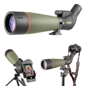 Gosky Spotting Scope with Tripod-Phone Mount