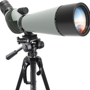 Emarth Spotting Scope with Camera Tripod-45 Degree Angled Eyepiece
